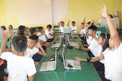 学校にインターネット環境をつくる!
